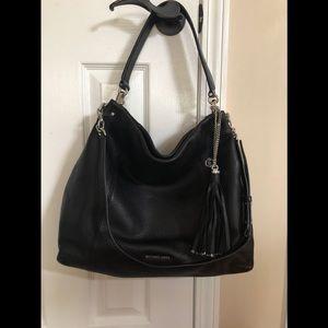 Michael Kors Pebbled Leather Shoulder Bag
